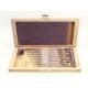 Šrobováky v dřevěné krabici 9 kusů