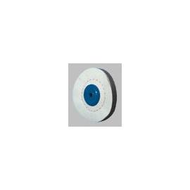 Leštící kotouč UTG platěný s modrým středem 100x20 mm