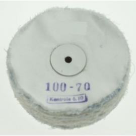 Leštící kotouč plátěný 100x70 mm
