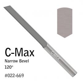 Rydlo so zrazenými hranami C-Max
